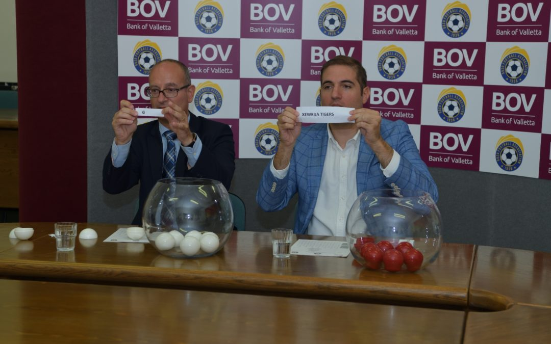 BOV GFA Competitions Fixtures Drawn