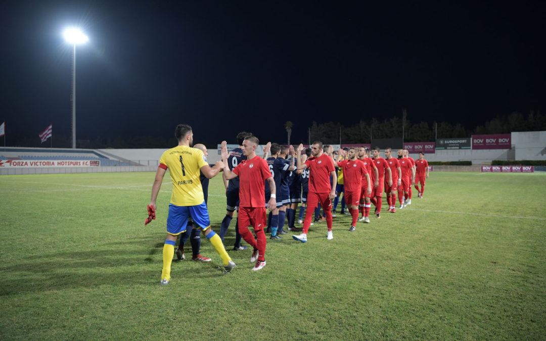 Victoria Hotspurs score seven goals in the second half