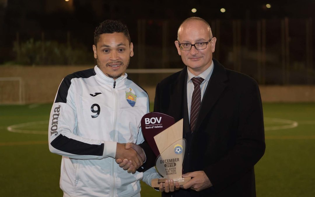 BOV GFA Player of the Month for December 2018
