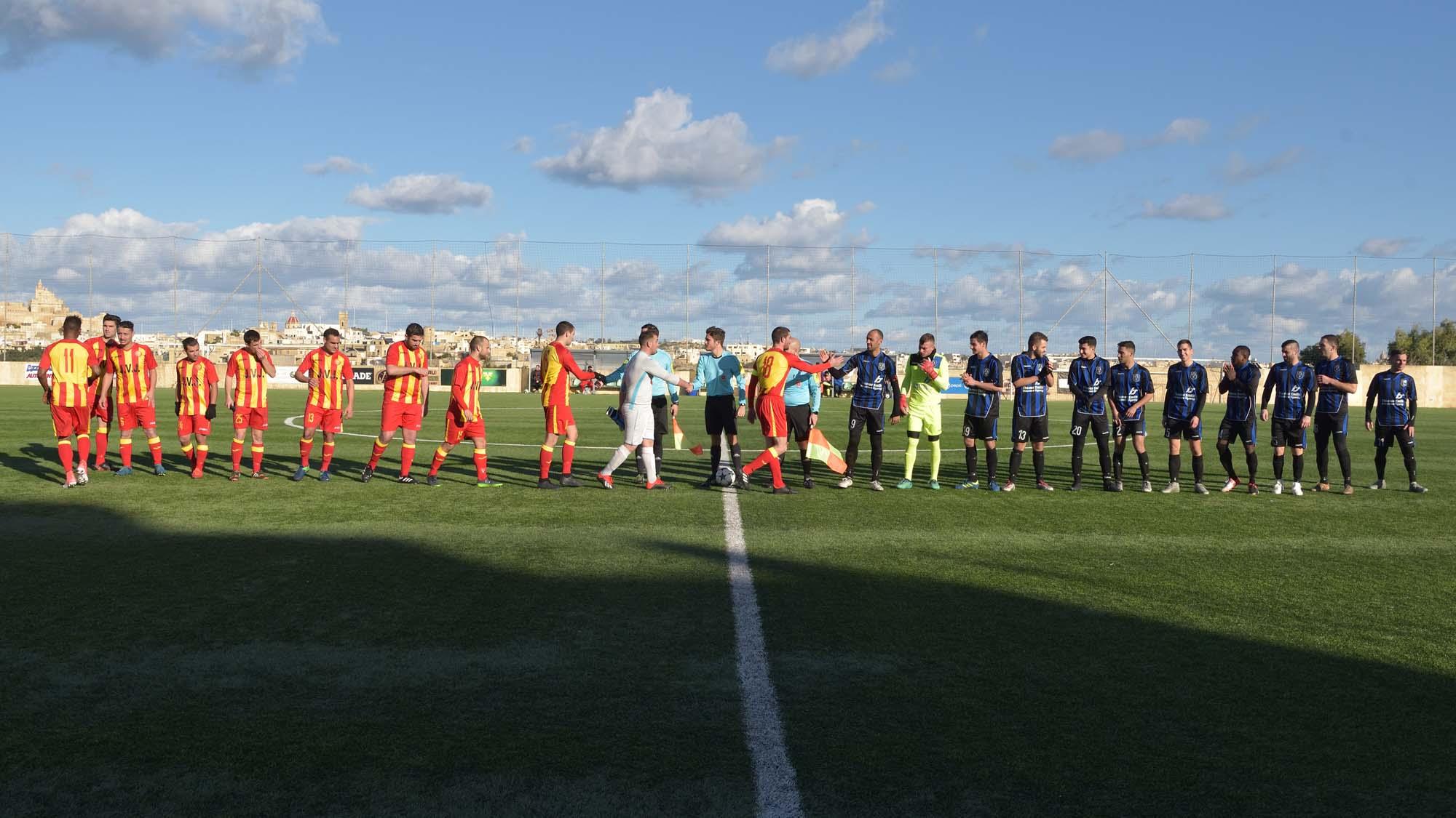 Xaghra United vs St Lawrence Spurs