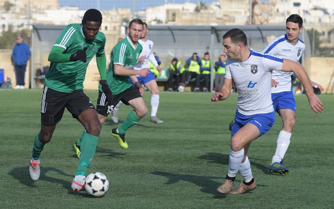 Sannat turn a defeat into a win in the top-of-the table clash