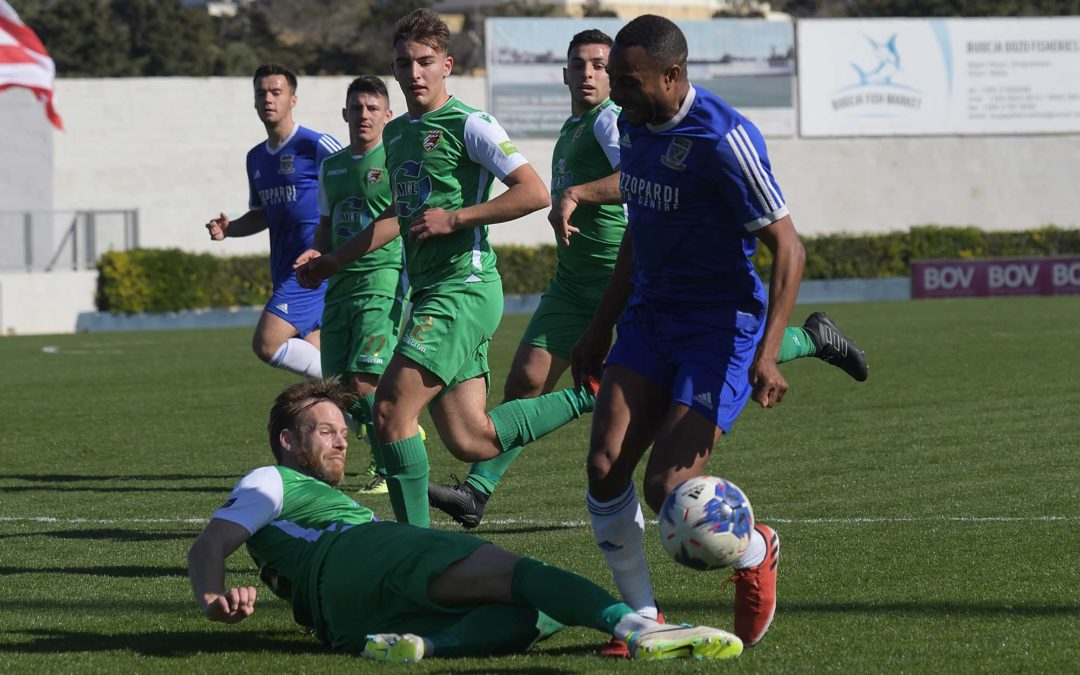 Kercem register their first win in the championship