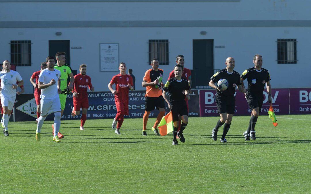 Victoria Hotspurs score four goals in each half