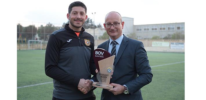 BOV GFA Player of the Month for February