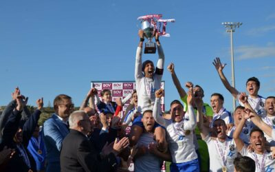 Xaghra United Champions and promoted