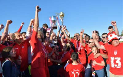 Victoria Hotspurs celebrate 13th championship with a handsome win