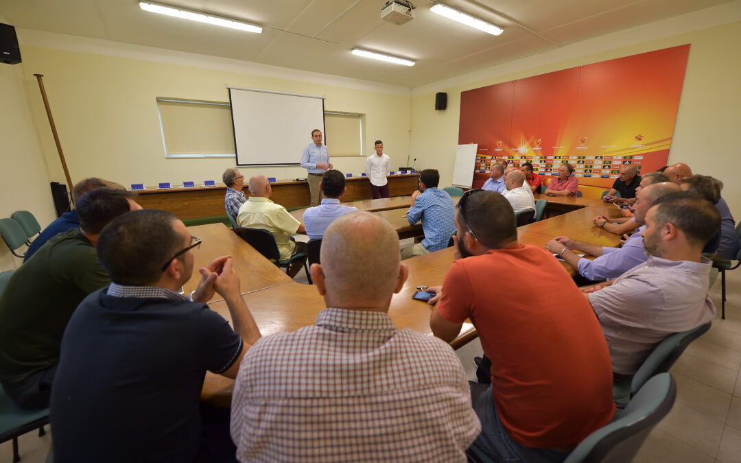 Performance Trackers presented to Gozitan Clubs