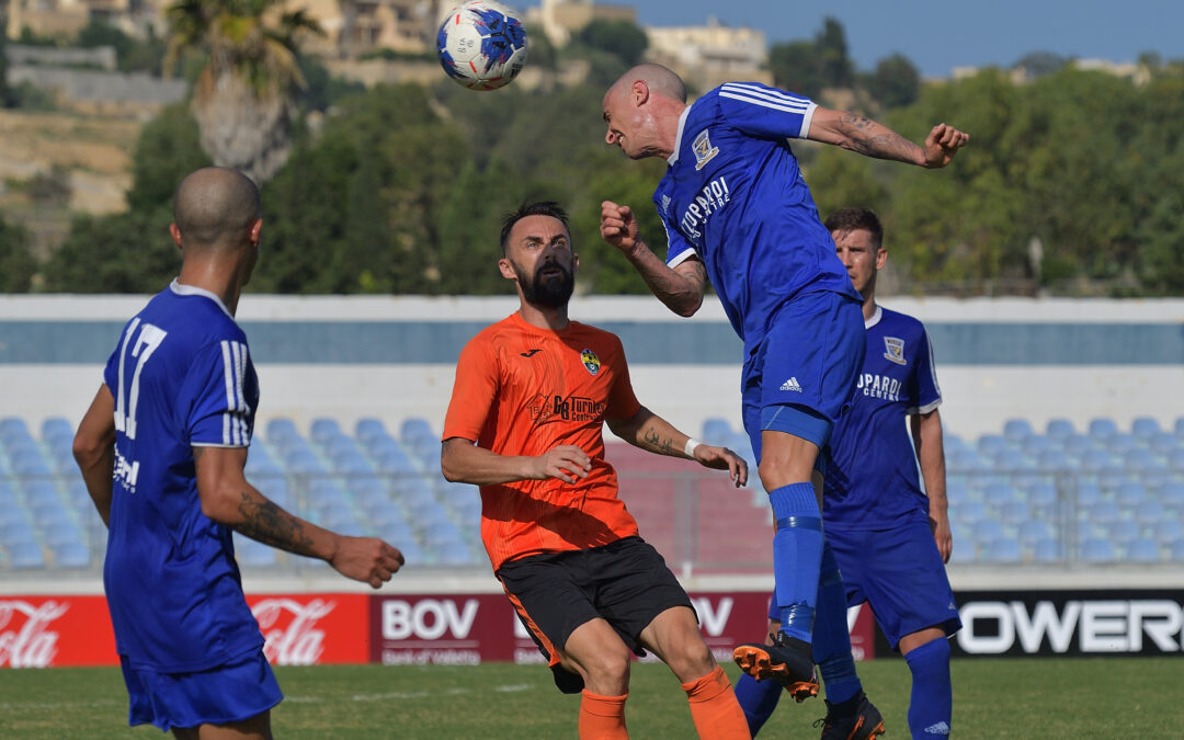 Ghajnsielem obtain a close win and move close to top positions