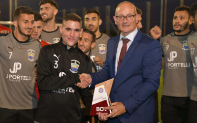 Gennaro Hili awarded Player of the Month for September 2019