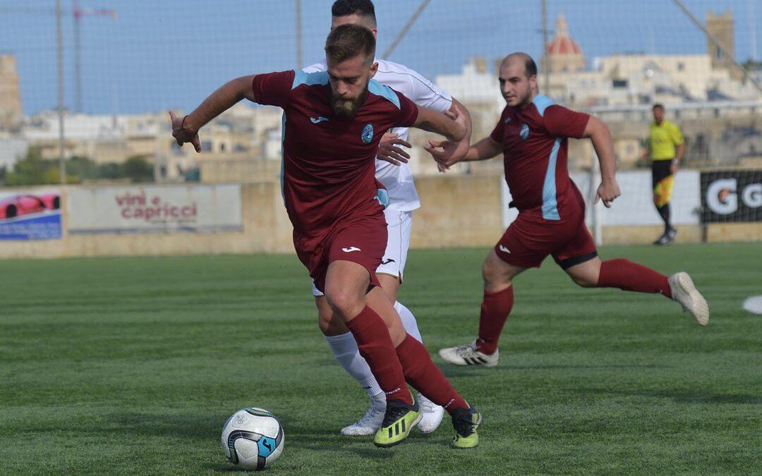 Ghajnsielem score two goals in each half to reach the quarter-finals