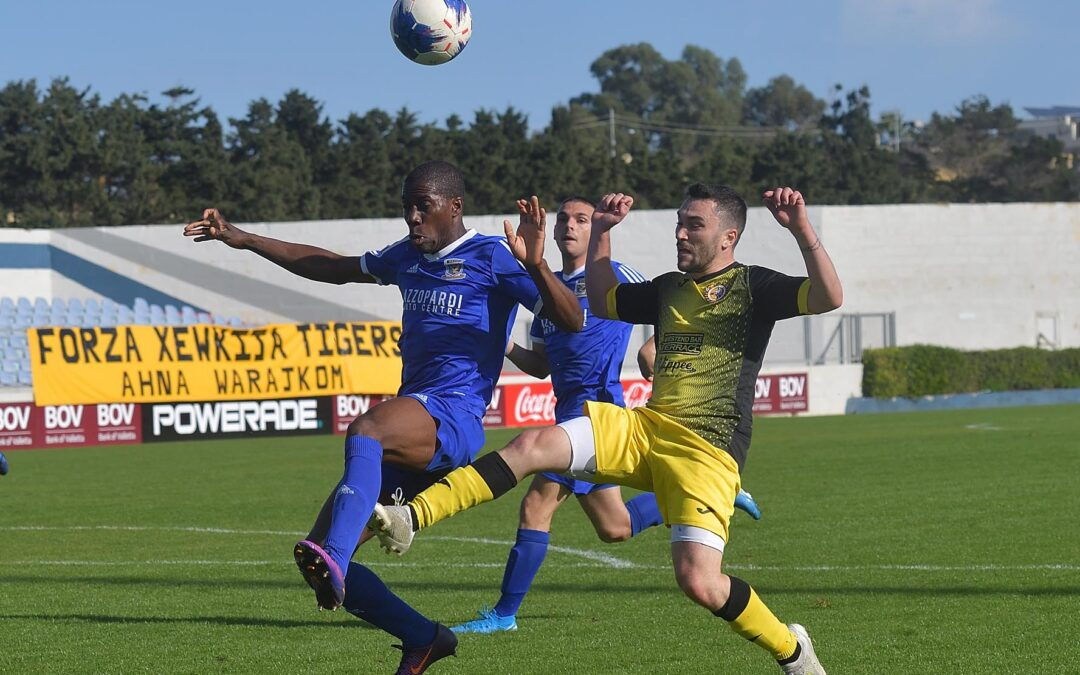 Xewkija retain the second spot with a fine win