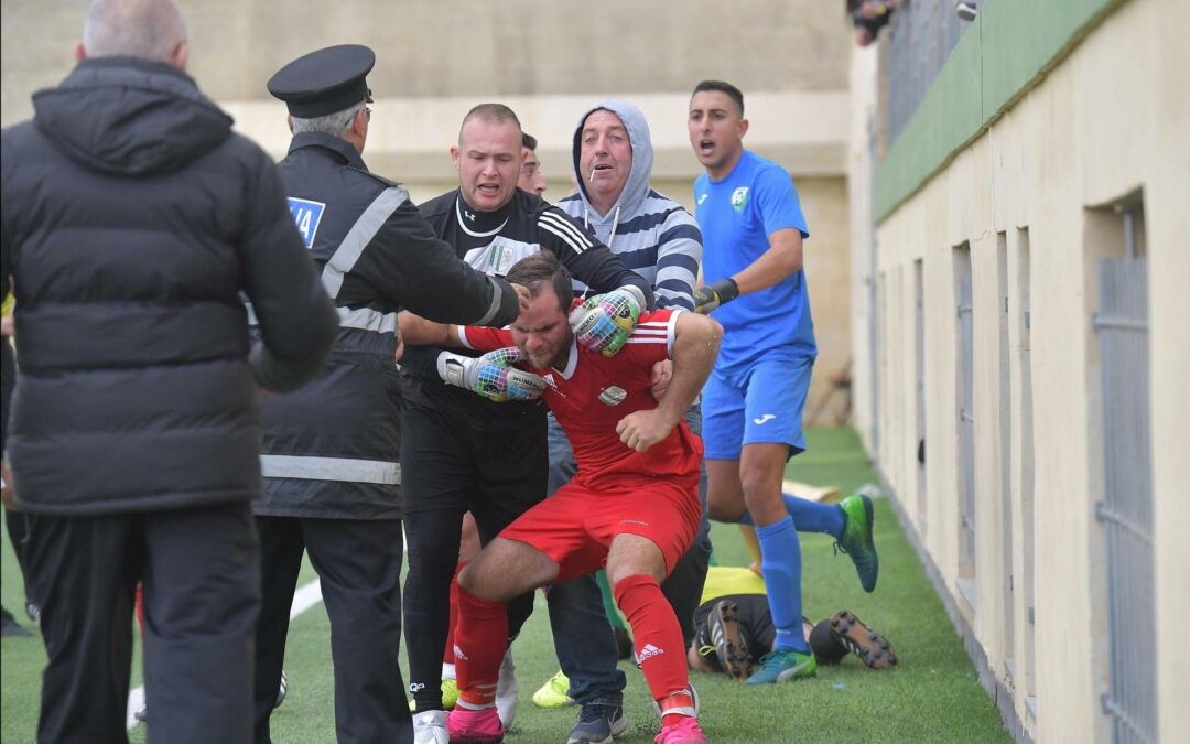 The Gozo Football Association deplores the assault on the Assistant Referee